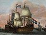 Detail images: Willem van de Velde, 1633 Leiden – 1707 London