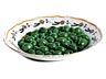 Detail images: Fayence-Schaugerichtteller mit grünen Oliven