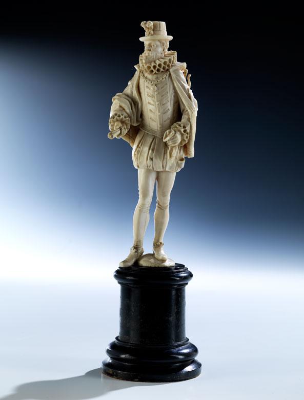 Elfenbeinfigur Henry II