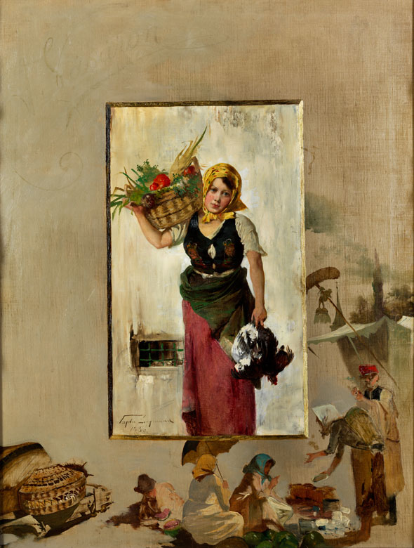 Slawischer Maler des 19. Jahrhunderts.