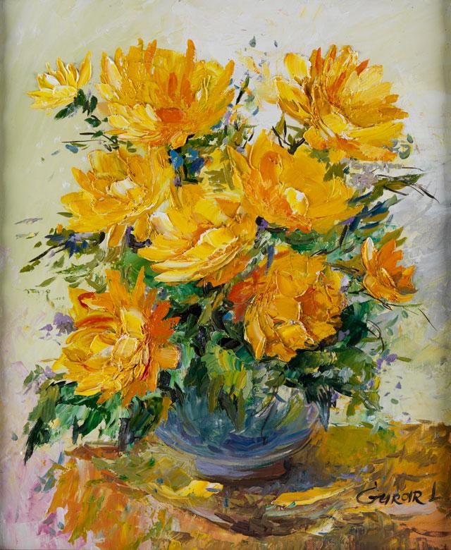 A. E. Gurar, russischer Maler der Moderne