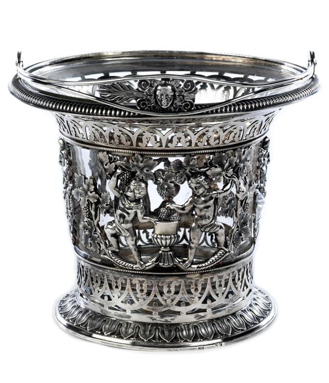 Empire Silber Körbchen