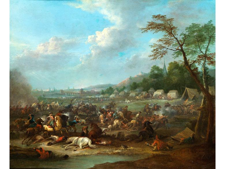 """Karel Breydel, (genannt """"Le Chevalier""""), 1678 Antwerpen – 1733 ebenda"""