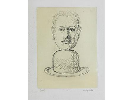 René Magritte, 1898 Lesiness – 1967 Brüssel