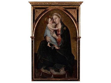 Scolaio di Giovanni, (genannt Maestro del Borgo alla Collina), 1369 Florenz – dokumentiert bis 1434, zug.