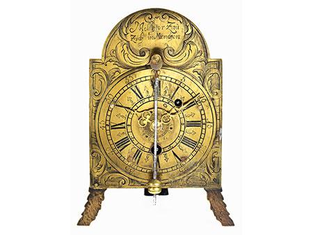 Seltene Münchner Vorderzappler-Uhr
