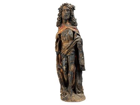 Gotische Steingussfigur