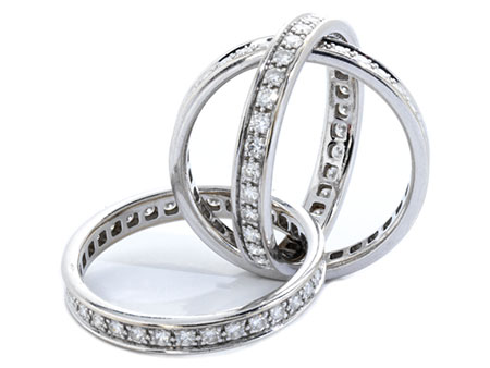 "Cartier-Brilliantring ""Trinity"""