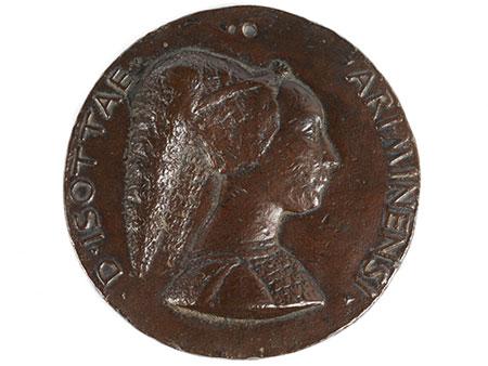 Matteo de'Pasti, 1441 – 1467/68, als Bronzegießer in Italien tätig