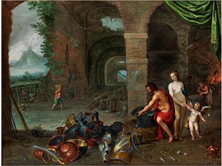 Flämischer Meister aus dem Umkreis von Jan Brueghel d. J. (1608 – 1678) und Jan van Kessel (um 1626 – 1679)
