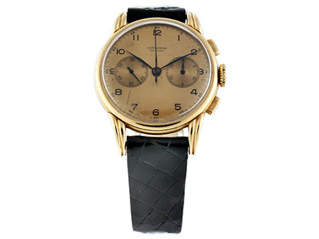 Chronograph von LONGINES in Rotgold