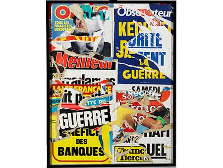 Jacques Villeglé geb. 1926 Quimper,