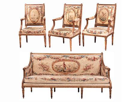 Louis XVI-Sitzgruppe