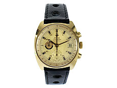 "OMEGA Chronograph ""Seamaster"" in Gold"