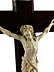 Detail images: Holzkruzifix mit Corpus Christi in Elfenbein