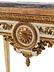 Detail images: Große Louis XVI-Konsole
