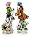 Detail images: Paar große Porzellanfiguren