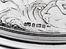 Detail images: Große Silberkanne mit Tablett