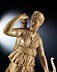 """Detail images: Große Elfenbein-Schnitzfigur der """"Diana von Versailles"""""""