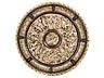 Detail images: Großer Elfenbeinreliefteller mit Silbermontierung