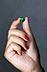 Detail images: Loser Smaragd in Herzform
