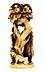 Detailabbildung: Kleine Elfenbeinfigurengruppe