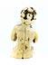 Detail images: Kleine Elfenbeinfigur eines sitzenden Knäbleins