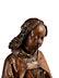 Detail images: Geschnitze Halbfigur eines gotischen Engels