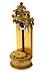 Detail images: Vergoldeter Kreuzbaldachin im Louis XVI-Stil