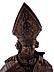 Detail images: Lebensgroße Büste eines Bischofs