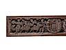 Detail images: Relief mit Wappen und Puttendekor