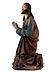 Detail images: Schnitzfigur eines Ölberg-Christus
