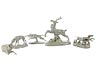 Detail images: Nymphenburger Porzellanfigurengruppe mit fünf Teilen