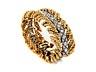 Detail images: Gold-Brillantarmband von Verdura