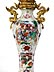 Detail images: Paar Chinoiserie-Vasenleuchter