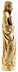 Detail images: Elfenbeinfigur des Heiligen Petrus