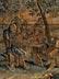 Detailabbildung: Großer flämischer Bildteppich mit niederländischer Genreszene