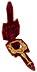Detail images: Seltener Handspiegel aus Gold