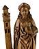 Detail images: Schnitzfigur der Heiligen Barbara