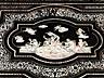 Detail images: Tisch mit reichen Elfenbeinintarsien