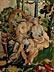 Detail images: Prachtvoller Brüsseler Wandteppich mit Darstellung einer höfischen Parkanlage