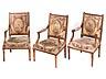 Detailabbildung: Louis XVI-Sitzgruppe