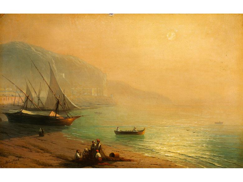 Ivan Constantinovich Aivazovsky, 1817 Feodossija/ Krim - 1900 ebenda