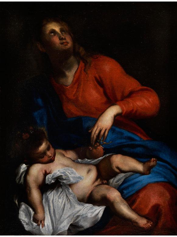 Massimo Stanzione, 1585 Neapel - 1656, zug.