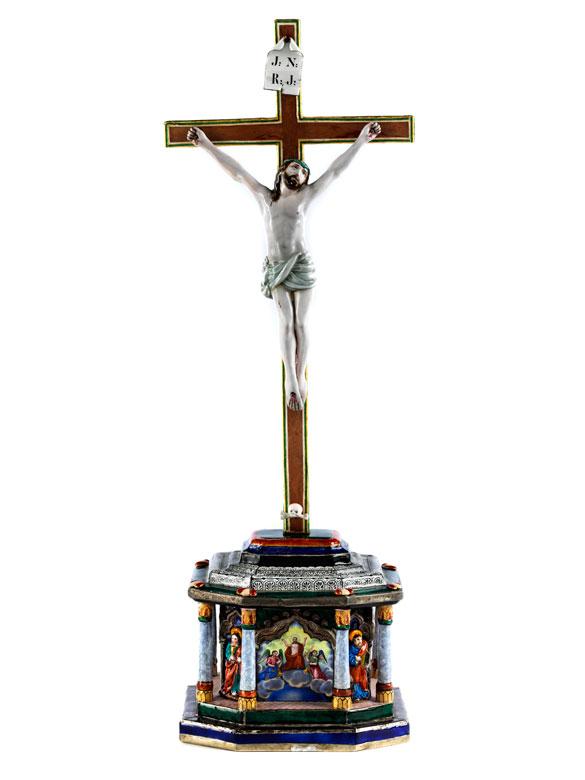 Kruzifix mit Corpus Christi