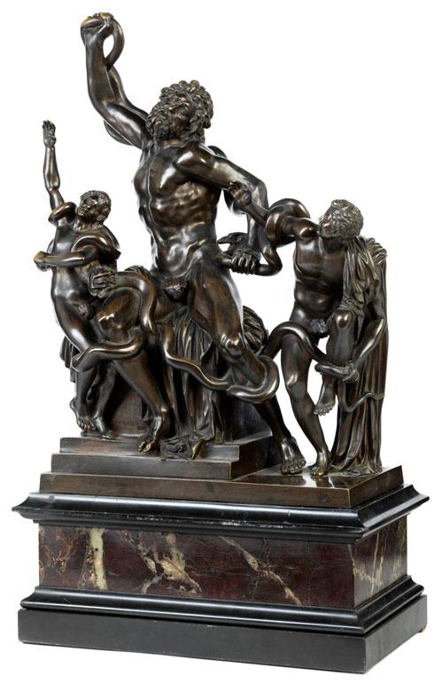 Bronzegruppe Laocoon