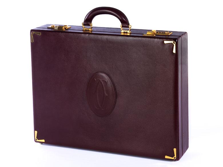 Aktenkoffer von Cartier