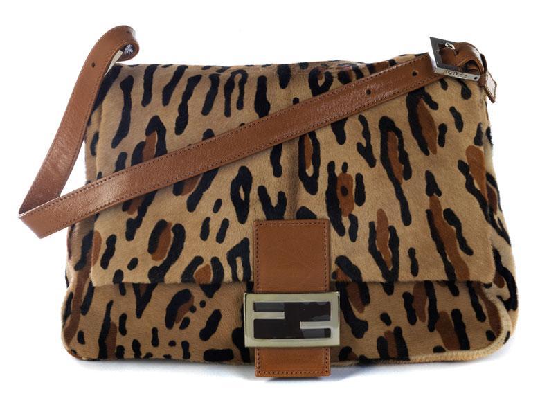"Fendi ""Mama-Bag"" Leoparden-Print"