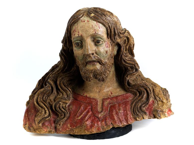 Jesusbüste in Ton