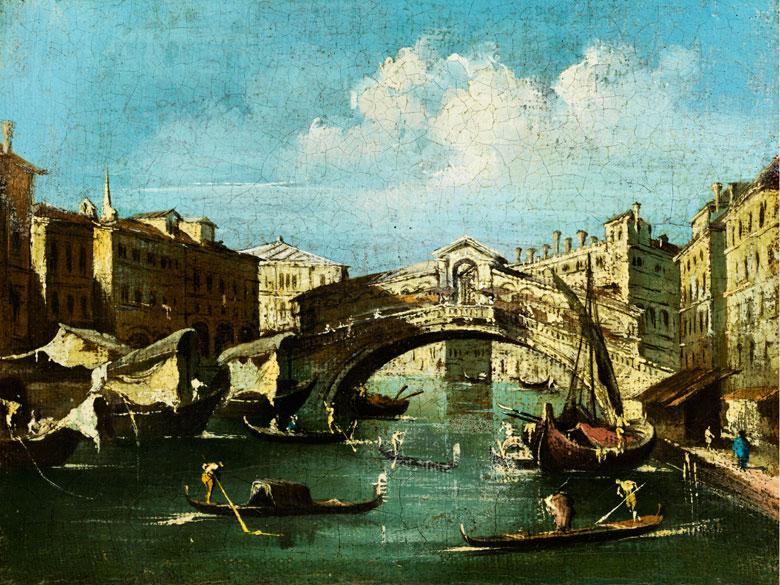 Francesco Guardi, 1712 Venedig - 1793 Venedig, Nachfolge